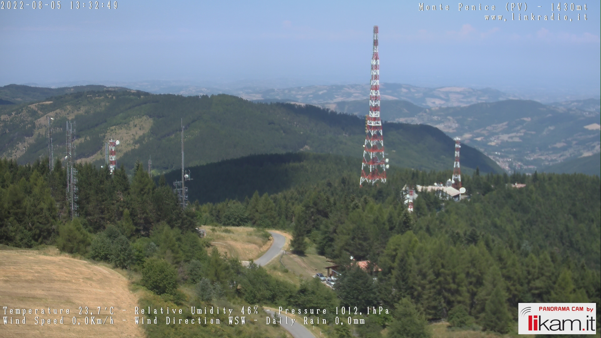 Webcam Monte Penice 1460 mt